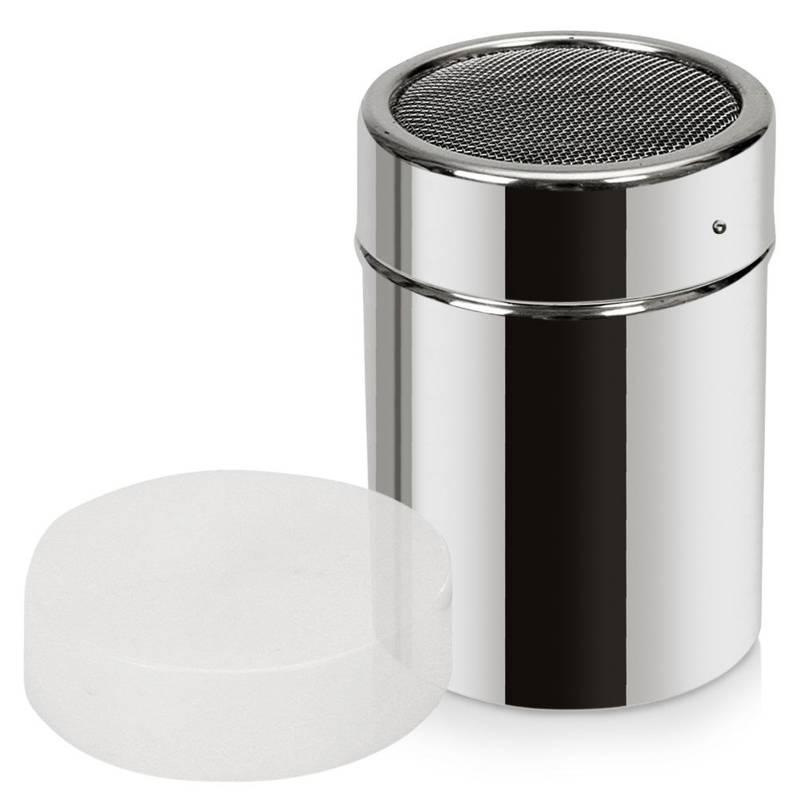 Behälter mit Sieb Streuer für Kaffee Zimt Puderzucker Pulverdose